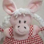 Plush 'Polka the Piggy' Soft Toy